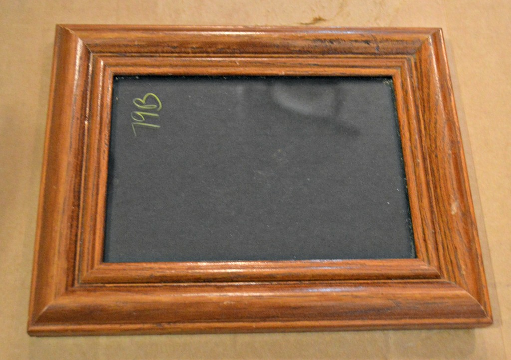 thrift store picture frame