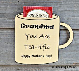 Grandam Tea Gift for mother's day
