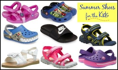 Summer Shoes for the Kids