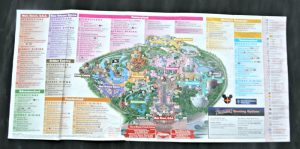 Disneyland Park California map 2015