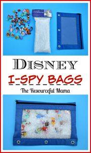 Disney I spy bags