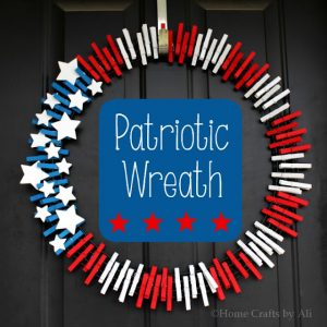 home crafts by ali patriotic wreath