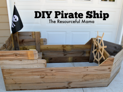 Set Sail with this DIY Pirate Ship