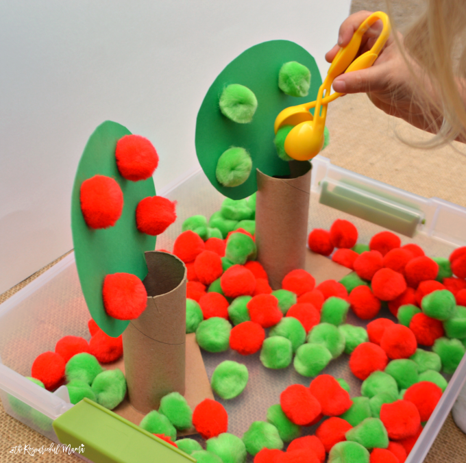 Apple Craft Ideas For Preschoolers