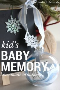 Baby Memory Ornament