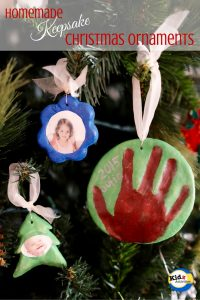 Homemade Keepsake Ornament
