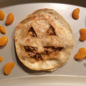 Looking for a fun Halloween meal for your kids? Try these fun jack a lantern quesadillas.