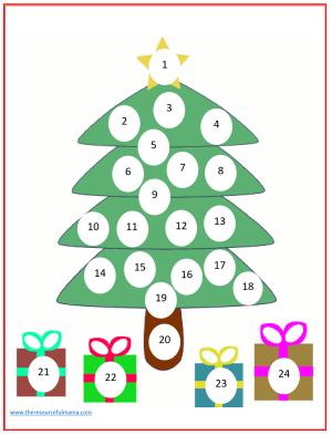 Do a Dot Christmas Countdown Advent Calendar