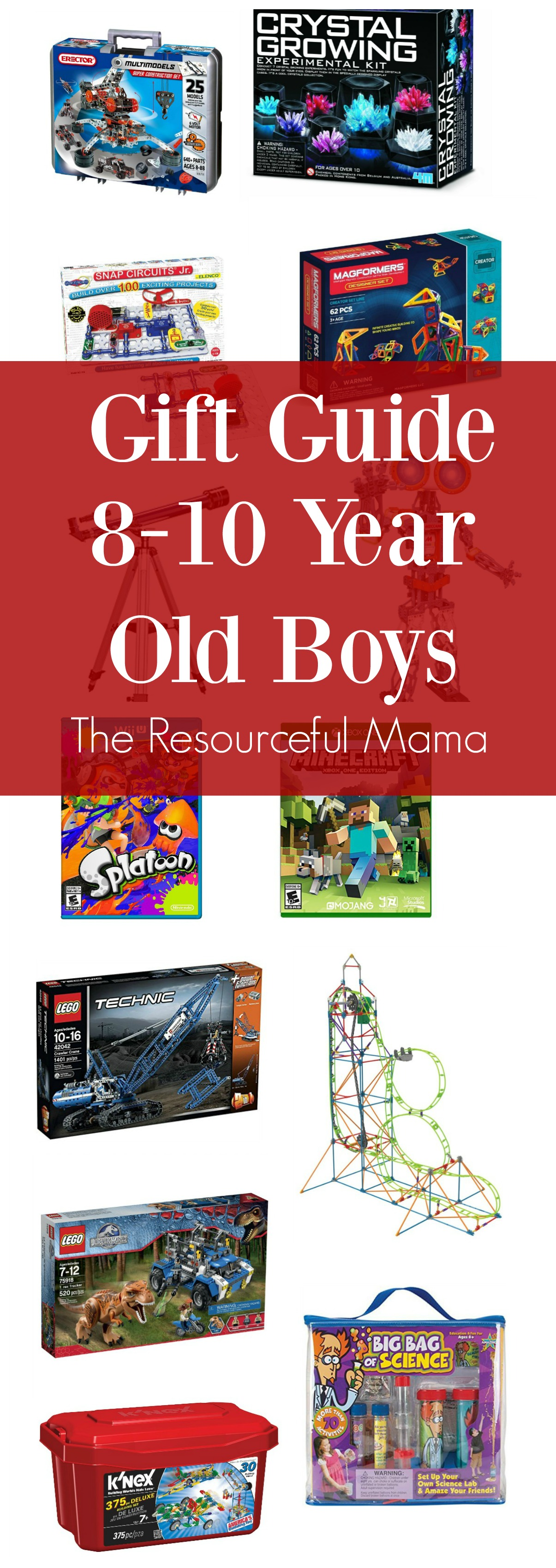 Toys For 8 10 Years : Gift ideas year old boys