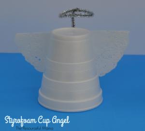 Styrofoam Cup Angel Craft for Kids