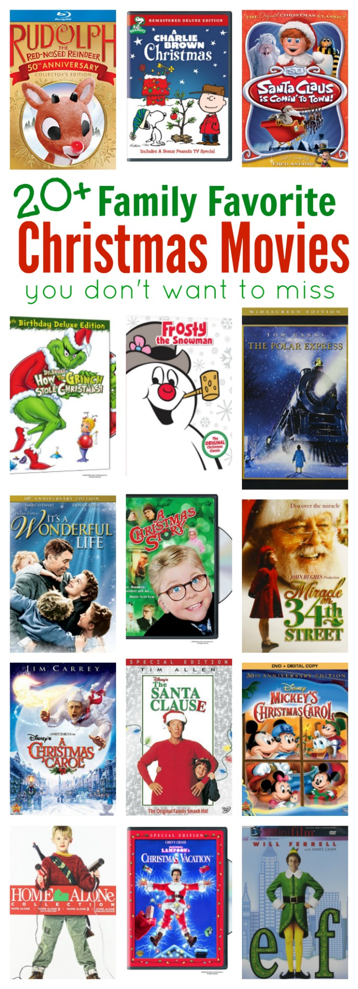 Classic Christmas Movies Family Pictures To Pin On