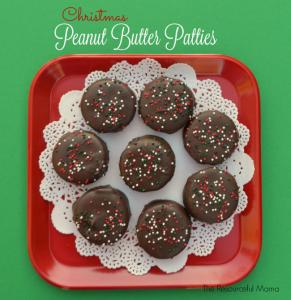 christmas peanut butter patties