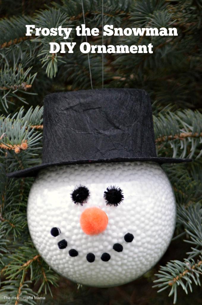 Kids Homemade Christmas Ornaments