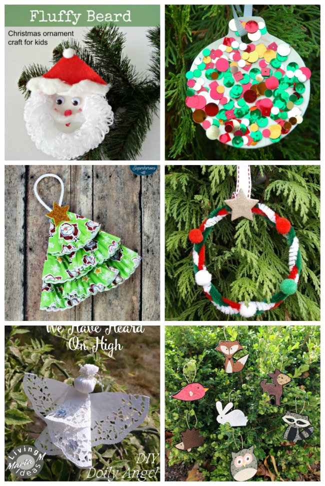 Homemade Christmas Decorations For Preschoolers : Homemade kid christmas ornaments the resourceful mama