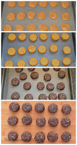 Homemade Christmas Peanut Butter Patties Great no bake Christmas cookie! If you like Girl Scout Peanut Butter Patties or Tagalongs, you will love these!