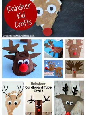 Top Ten Reindeer Kid Crafts