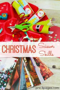 Christmas Scissor Skills by Pre-K Pages