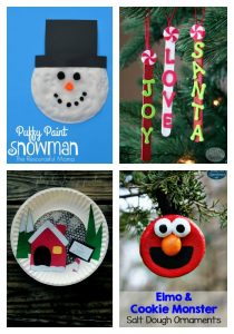 Christmas and winter kids crafts Made for Kids link party