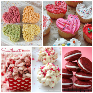 Fun and easy Valentine's Day treats, perfect for your child's school Valentine's Day party
