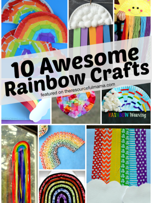 10 Awesome Rainbow Crafts for Kids