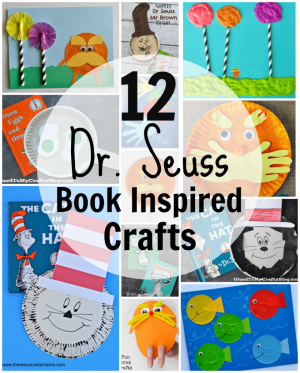 Book Inspired Dr. Seuss Crafts
