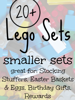 20+ Smaller Lego Sets