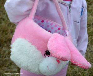 Fluffy Bunny Basket