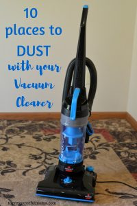 Reduce dust and dust mites in your home with frequent dusting. Get your dusting done quickly by using the vacuum cleaner for these ten spots. clean| dust| vacuum cleaner| allergies| housework| quick cleaning tips
