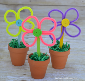 how to make pipe cleaner flowers youtube