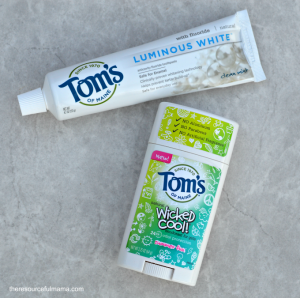 Toms of Maine natural personal hygiene products available at Target.
