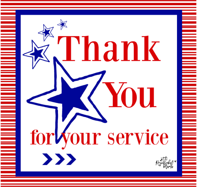 Bright image pertaining to military thank you cards free printable
