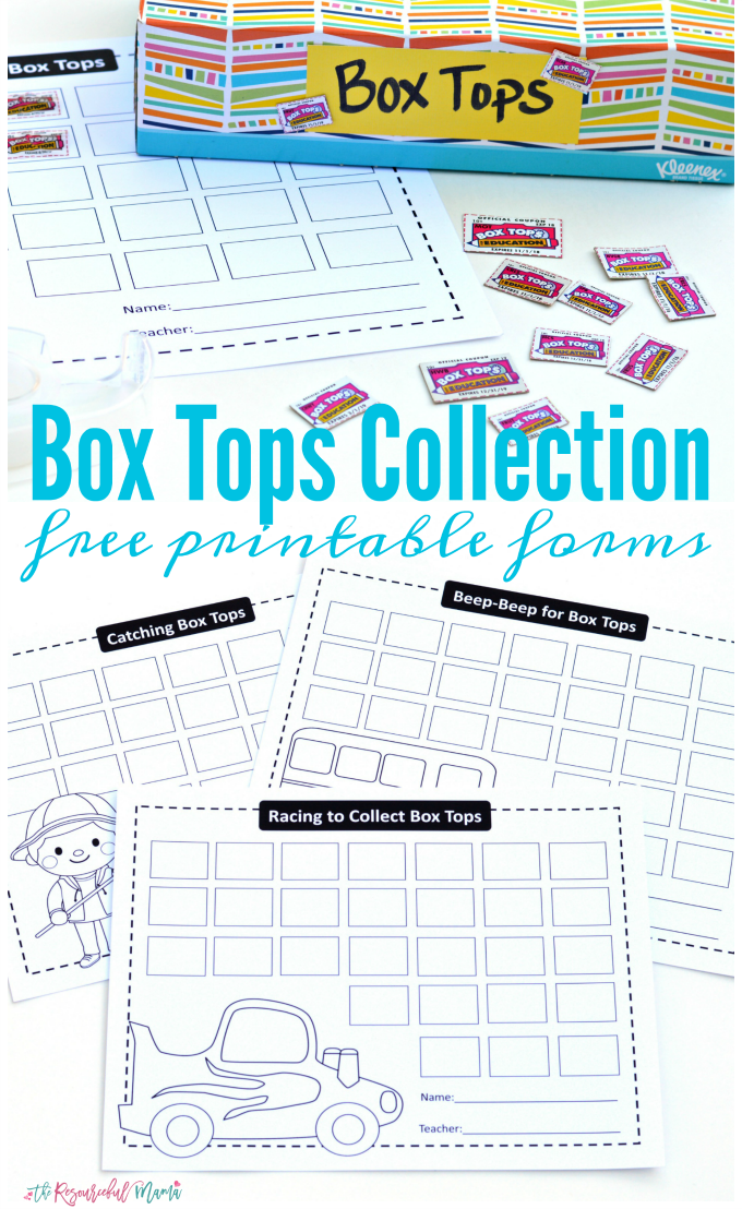 It's just a photo of Fan Printable Box Tops