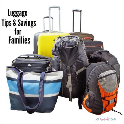 Luggage Tips and Savings for Traveling Families
