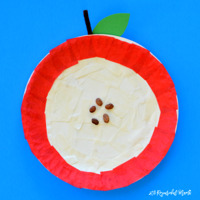 Explore Parts of an Apple Through Craft