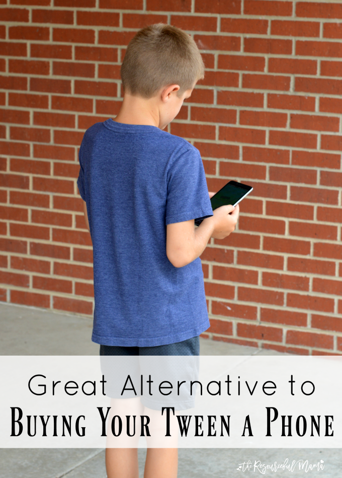 Is your tween begging for a phone or maybe there are a few times when they need one, do this instead of buying them their own phone.
