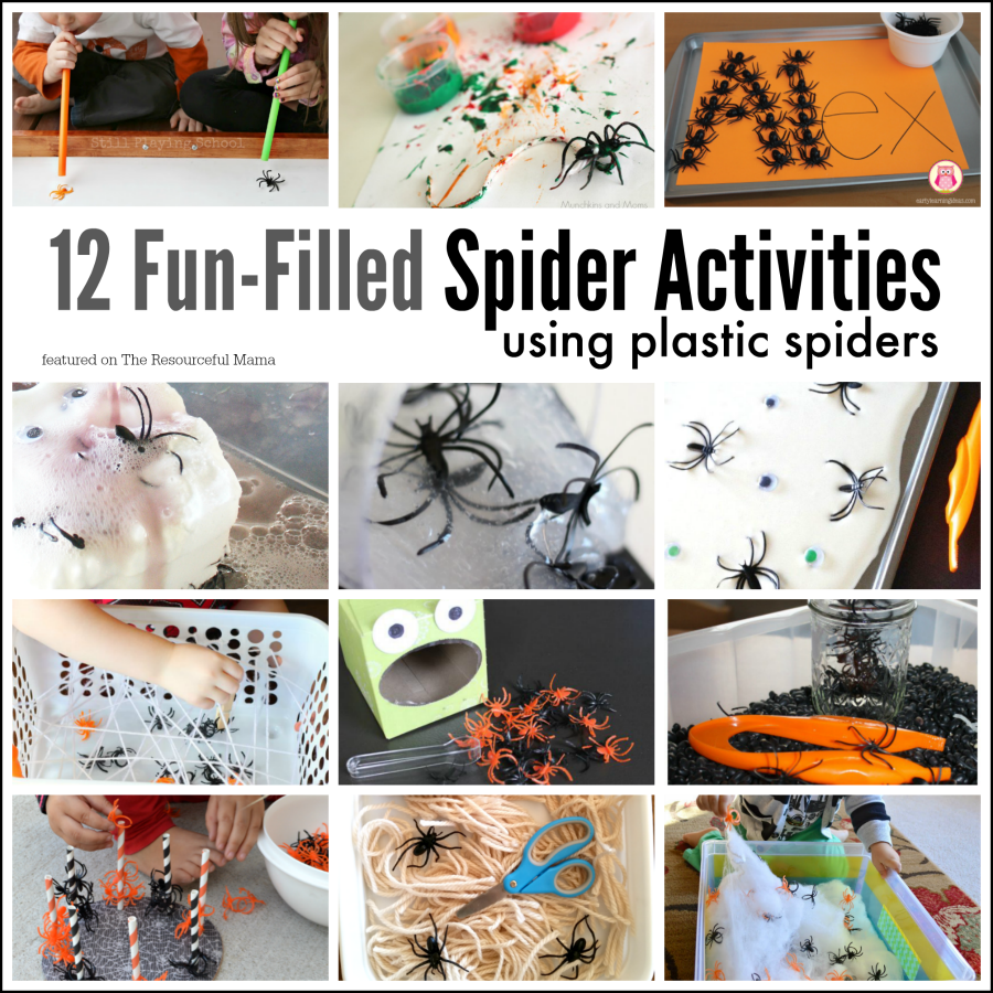 These spider activities are lots of fun while offering kids the opportunity to explore science and math, build motor skills, and more. Halloween | The Very Busy Spider | Spider themed