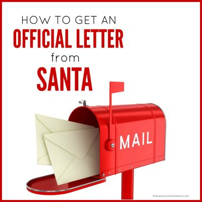 How to Get a Letter Back from Santa