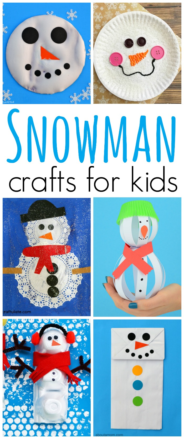 Pinterest Snowman Crafts For Preschoolers