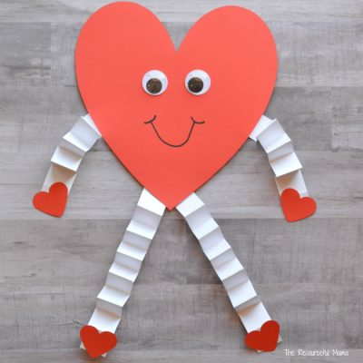 Valentine's Day Heart Craft for Kids