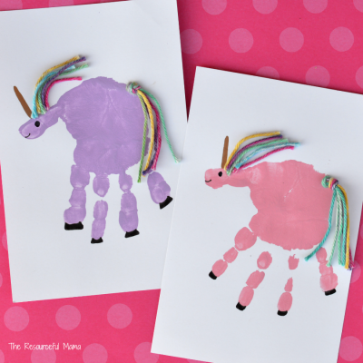 Handprint Unicorn Craft