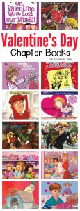Valentine's Day chapter books full of laughs, adventure, and mystery for your grade school aged kids. These Easy to read Valentine's Day chapter books will get even the most reluctant readers reading and loving it