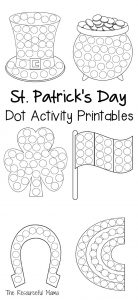 These St. Patrick's Day do a dot worksheets provide a quick and easy activity for young kids, while introducing and getting them excited about the holiday. do a dot    dauber markers