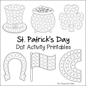 These St. Patrick's Day do a dot worksheets provide a quick and easy activity for young kids, while introducing and getting them excited about the holiday.