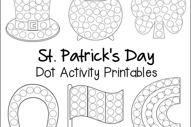 St. Patrick's Day Dot Activity Printables