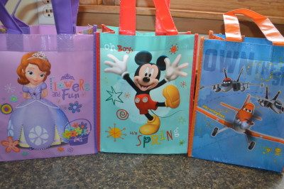 Dollar Tree Character Bags Make Lunch Special
