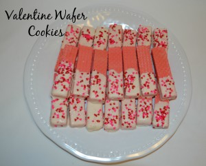 Valentine Wafer Cookies