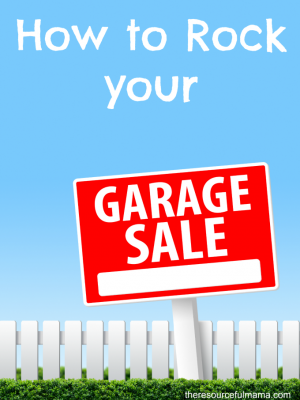 How to Rock Your Garage Sale