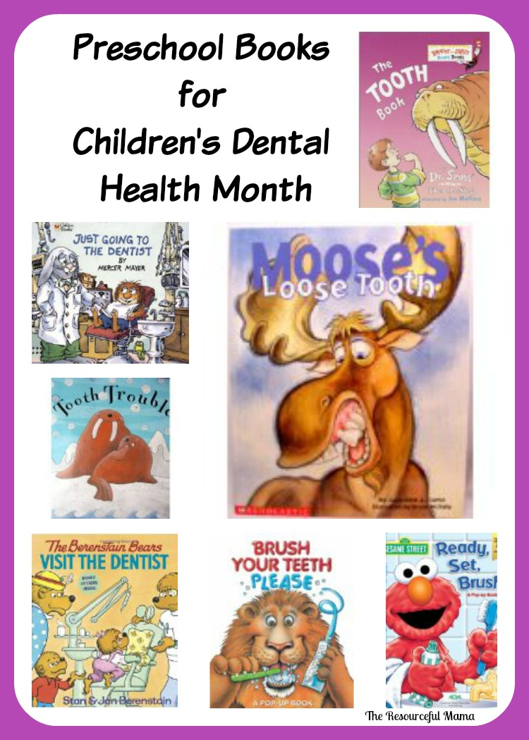 Preschool Storytime Dental Health Month The Resourceful Mama