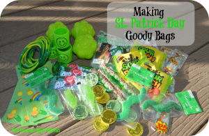 Make St. Patty Day goody bags