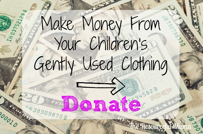 how to make money off used clothes